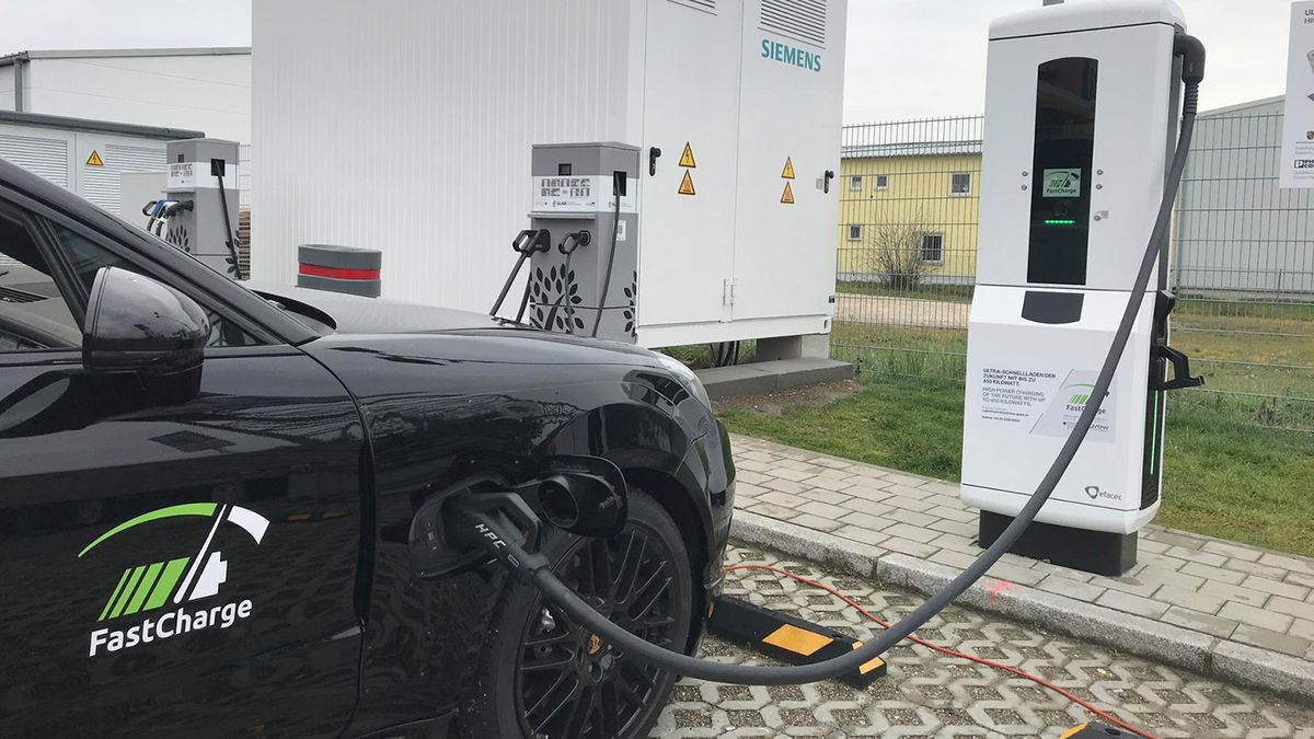Electric Car Charging Goes Super Fast