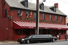 Image courtesy Ruud Leeuw                              Taverns like the Middleton Historic Tavern traditionally catered to travelers.
