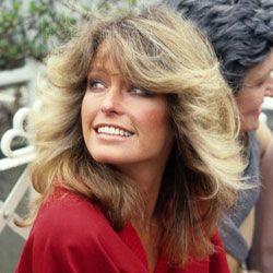 Farrah Fawcett in a photo taken in 1978.