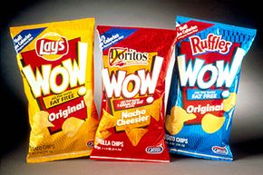 """Wow, do you remember those olestra chips? You won't see them with the """"WOW!"""" label anymore, but an April 2013 U.S. FDA report still cited olestra as a food additive that manufacturers could add directly to human food."""