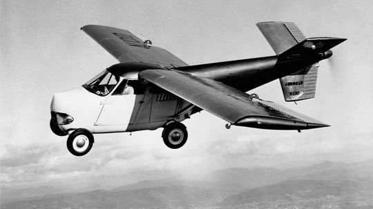 5 Flying Car Prototypes