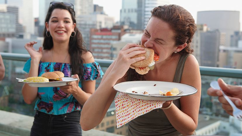 Our bodies have many ways of telling us we're hungry, even when we don't necessarily need to nosh. LWA/Dann Tardif/Blend Images/Getty Images