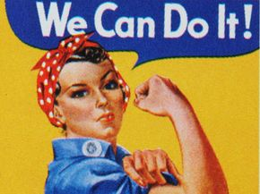 Feminism is far more complex than Rosie the Riveter.