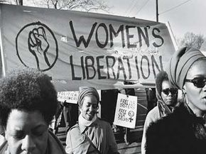 Some black feminists felt marginalized by the Women's Liberation Movement.