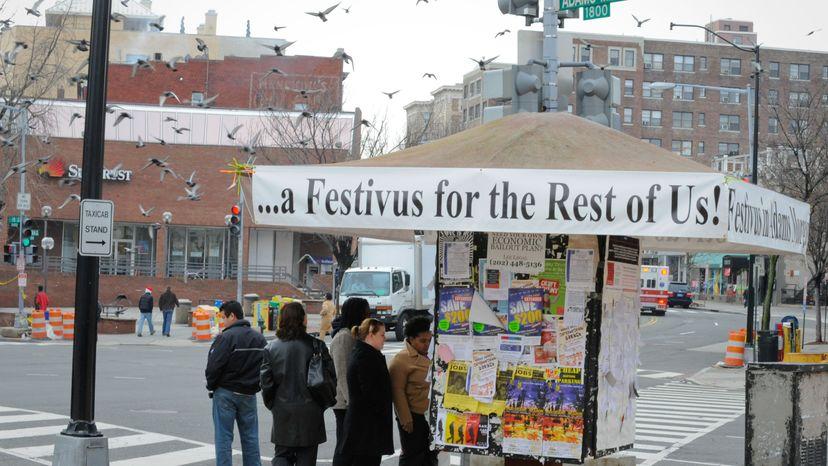 Festivus kiosk