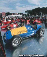 The Ferrari 125 F1 showed promise as Ferrari's first Grand Prix racer.