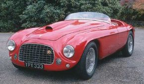 The Ferrari 166 MM.