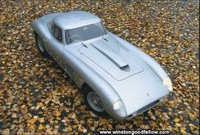 The 1954 Ferrari 375 MM.