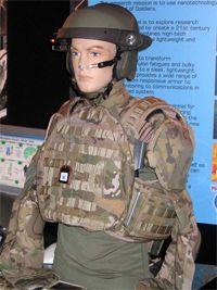 Future Force Warrior helmet