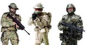 Future Force soldiers