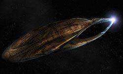 Meet Moya, the living spaceship.