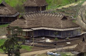 """Construction managers built a complete village for the production of """"The Last Samurai."""""""