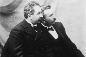 Louis and Auguste Lumière made the first motion picture ever screened.
