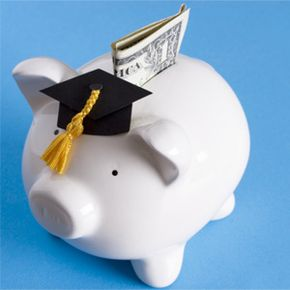 Financial aid might help you to put more Benjamins (or Georges) into your college piggy bank.