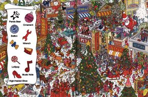 Find the Christmas tree ornaments in this holiday game.