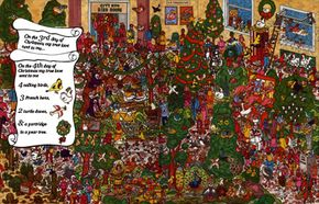 Find lots of festive birds in this Christmas game.