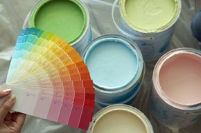 You can get any color your heart desires in low- or no-VOC paint!