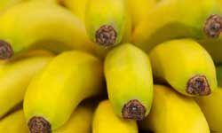 Potassium in bananas eliminate fluid retention.