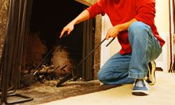 Using the fireplace is one of the perks of wintertime -- but it's also a potential source of holiday danger.