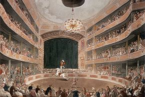 The circus was first established by Philip Astley, who opened the Astley's Amphitheatre in 1777. It was his idea to have the horses perform in a circular ring.