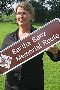 You can actually visit the Bertha Benz Memorial Route in Germany to retrace the historic road trip.