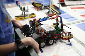 Lego-based robotics take the field!