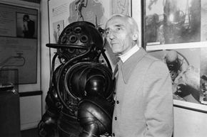 Underwater pioneer Jacques Cousteau pays homage to diving's roots.