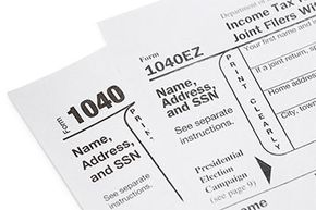 Should you use 1040 or 1040EZ? Most first-timers will have a simple enough tax situation that they can use 1040EZ.