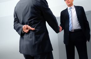 A handshake won't hold up in court if a seller decides to go back on his word, but a signed agreement will.