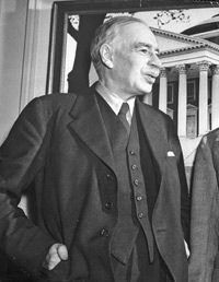 British economist John Maynard Keynes.