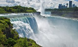 American Falls in New York, part of Niagara Falls, is one of the most famous waterfalls in the world, but at 176 feet high it isn't nearly as tall as some of the tallest. What are the 10 highest waterfalls in the world? See more pictures of waterfalls.