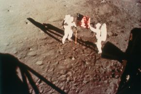 Though it's proven fact that humans have walked on the moon, conspiracy theorists claim it was staged, and perhaps at Area 51.