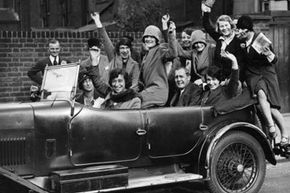 The car revolutionized life for the young flapper.