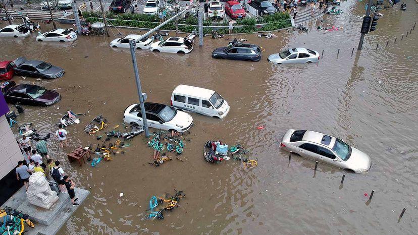 flash floods China