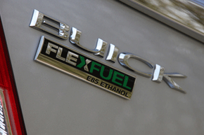 A lot of people don't even know they drive a flex-fuel vehicle. A body badge like this, however, is a dead giveaway. Want to learn more? Check out these alternative fuel vehicle pictures.
