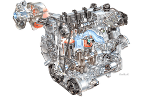 Flex-fuel engines are specially designed to withstand the corrosiveness of ethanol. Run ethanol regularly in a regular gas engine and it will rust and break down.