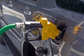 Flex-fuel vehicles run on different blends of fuels, most frequently a mixture of gasoline and ethanol, a type of alcohol. Want to learn more? Check out these alternative fuel vehicle pictures!