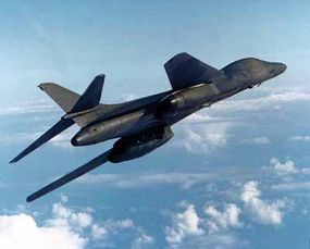 On July 4, 1987, a B-1B set four world records for speed, distance, and payload. The B-1B also has a tremendous conventional weapon capability.