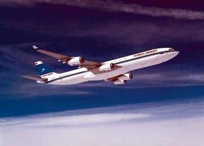 Airbus threw down the gauntlet to Boeing's 747 and 777 aircraft with its A340 series of aircraft, which made its first flight on October 25, 1991. The later models of the A340 can carry up to 380 passengers over a 7,500 nautical mile range.