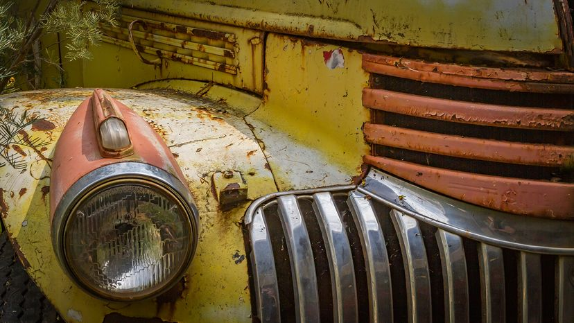 Car with rust