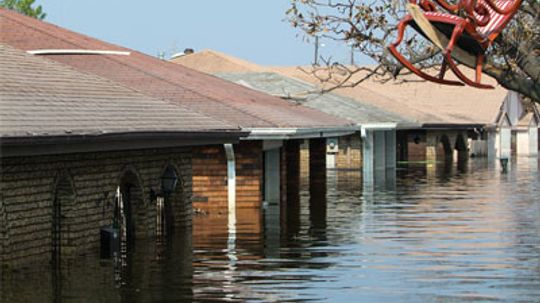 Why does a flooded house need to be torn down?