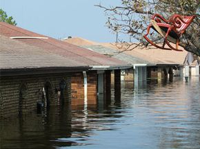 Flooding after Hurricane Katrina. See more storm pictures.