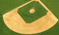Let your love of baseball shine through with this flooring project.