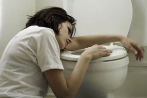 Vomiting is NOT a symptom of the flu. So if you're sick to your stomach, you could have norovirus.