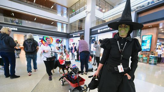 Flying on Halloween? You Can Wear a Costume!