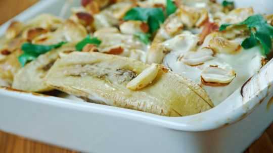 Flying Jacob: Sweden's Chicken, Banana and Whipped Cream Casserole
