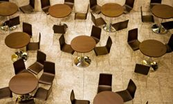 Don't expect the food court to have this many seats.