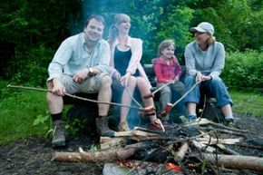 Your camping food options stretch way beyond franks and beans. See pictures of national parks.