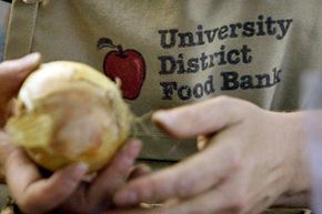 In the past year, the price of groceries has jumped nearly 5 percent and the costs some staples like milk and bread--the core of a college diet--have shot up by more than 30 percent. That's driving up demand at food banks and prompting some students to apply for food stamps.