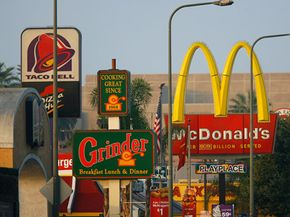 A food desert isolates residents from healthy foods. South Los Angeles is filled with fast-food restaurants -- about 400 -- but has only a few grocery stores. See more fast food pictures.